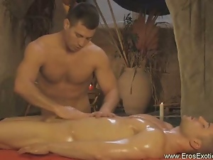 Hot gat genital massage