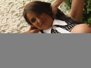 Super hot milf karera gets double-penetrated