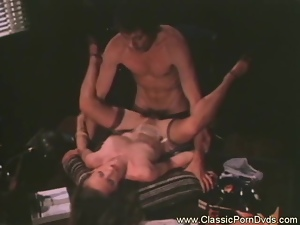 Sandy shows her naughty skills to the new Boss