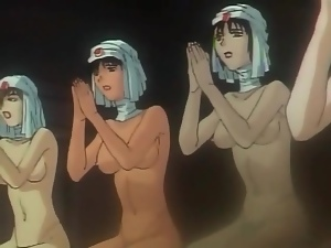 Hentai orgy scene with Egyptian beauties