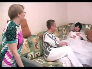 Attractive Attractive mature Stepmom joins not Her Son and his Fiancee