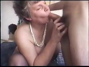 SilverFox Granny Seduces 19 years old Pecker