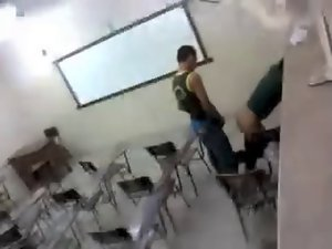 caught screwing in the classroom