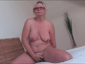 Comely heavy and blondie solo filthy bitch