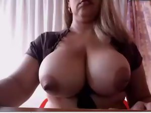 Transsexual with enormous boobs and extremely huge shaft Pt1