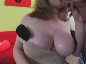 Alluring Plump fatty friend love licking and riding cock- P1