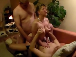 Slutty wife screws two guys, hubby is filming