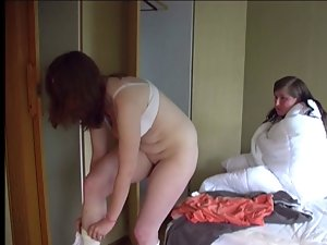 chick caned by her roommate