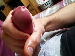 Cumshot in slow-motion - cell phone