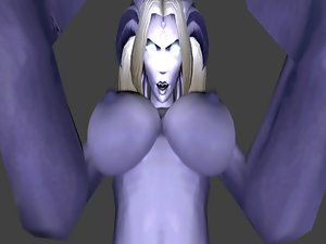 Draenei Futa Reversed Point of view