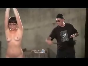 Flogged Tied And Toyed In Glasses