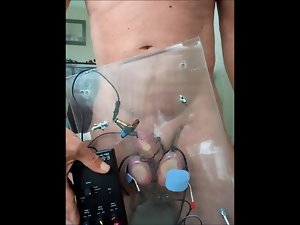 Extreme electric torture my prick balls 2 of 2