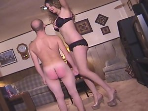Spanked by a Tall Female