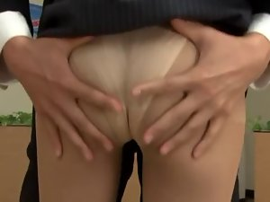 censored Yuuki Natsume office cutie groped and banged