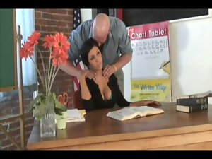 Dylan Ryder Teacher'_s Neck Massage Turns Into Total Body Sex Workout - HD