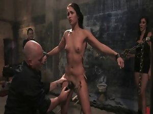 Ladies submit to sex slave