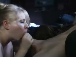 Whorish Light-haired Dirty wife Playing With Dick