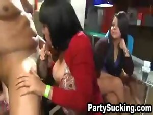 Party Slutty chicks Stroking Enormous peckers at Olivia&#039_s Crazy Engagement Blowout