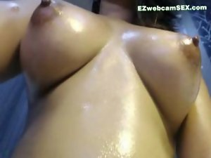 Luscious Oily Vagina And Boob Massage In Shower