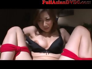 Asian Mommy maid tied and made to cum(2)