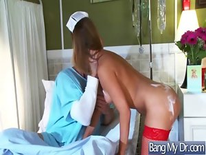 Doctor Pacient And Nurse In Explicit Shagging Episode movie-23