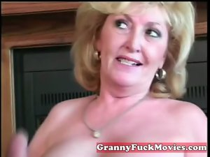 experienced Granny fellatio amateur penis