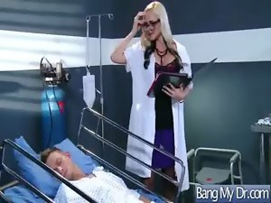 Doctor Pacient And Nurse In Wild Banging Episode movie-01