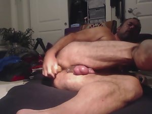 Daddy's first stunning anal lesson