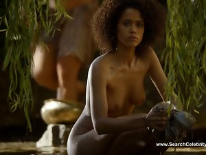 Nathalie Emmanuel naked - Game of Thrones S04E08