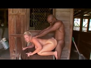 Country female meets BBC