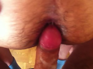 My Bulgarian lewd butt barefucked with creampie