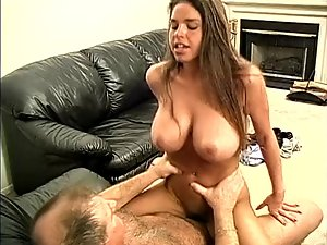 Big melons 18 years old Slutty girl & Aged Lecher