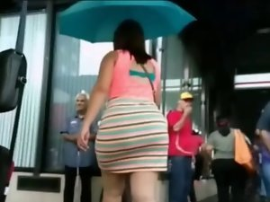 Candid Big Butts Selection - slow motion
