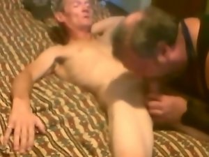 Sissy faggot fellatio and banging huge shaft