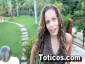 Tasha Banging Dominican doggystyle - Toticos.com filthy ebony latina butt