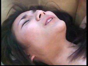 Asian Caged Slutty wife not Happy