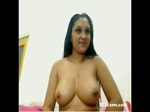 www.232cams.com - Eastern Sensual indian Romanian Gal with terrific butt and hooters on Cam