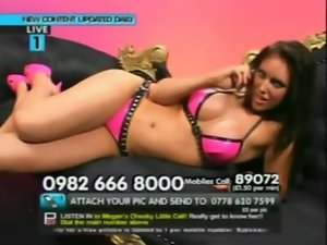 Babestation megan on the phone