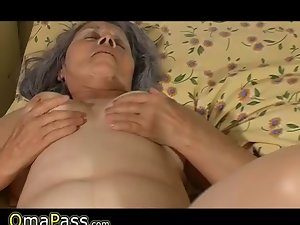 Older granny fuck with pregnant lezzy perfect cutie