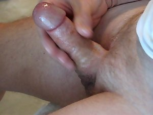 Aged fellow (over 70) cums