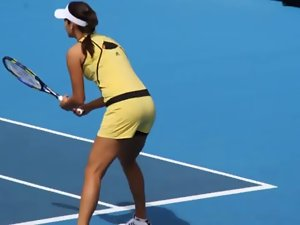 Ana Ivanovic is hot! Luscious On-Court Impressions Part 1 of 6