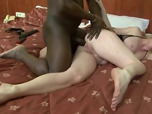 Blondie chesty attractive mature interracial.