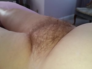 the soft buxom hirsute cunt & belly of my thick dirty wife
