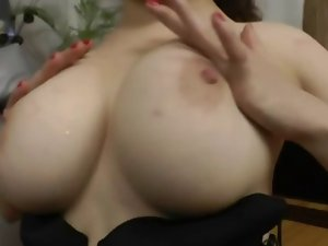 chesty Rus Young lady loves the stunning anal of her Seductive russian man