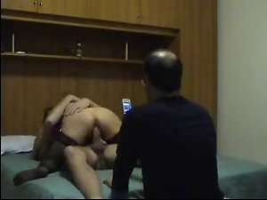 AMATEUR ITALIAN CUCKOLD FILMING HIS Dirty wife