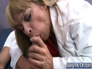 Doctor Give Sex Treatment To Chesty Alluring Sensual Pacient video-33