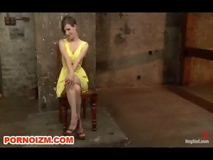Lezzy Dungeon Slave Iona Caned and Suspended