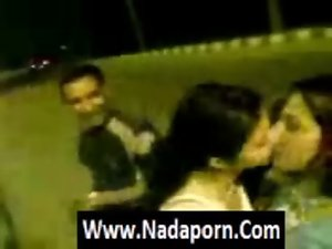 Arab hijab randy chicks kissing_NadaPorn.Com