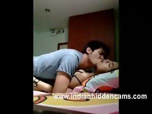 sensual indian college couple passionate mms leaked sex in hostel recorded by hidden cam
