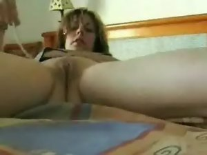 My mamma self recorded masturbating. Excellent stolen video